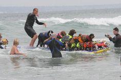 GO 2011 Hero Dog Awards Winner, Ricochet!!!!! Surf dogs set THREE Guinness Book of World Records in California!