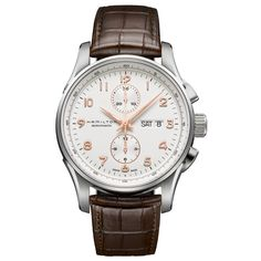 Hamilton Jazzmaster Maestro H32766513. This is a much less expensive alternative to the IWC Portuguese Chronograph IW371445!