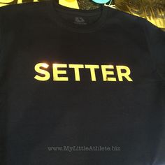 The Setter - Volleyball Position Tees Collection