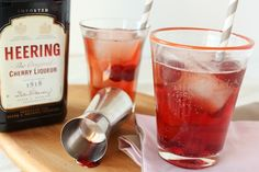 dirty shirley, shirley temple cocktail via @Casey | Good. Food. Stories.