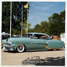 royboyprods:    1954 Pontiac  This 54 Pontiac is always good to see at shows across the region.