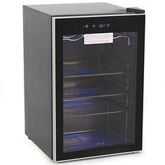 Della© Beverage Wine Cooler Mini Refrigerator, Digital LE…