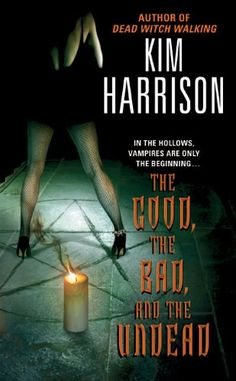 The Good, the Bad, and the Undead (The Hollows, Book 2) by Kim Harrison http://www.amazon.com/dp/B000FC2RRC/ref=cm_sw_r_pi_dp_lWUHvb0M9E00Z