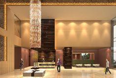 First draft lobby design - Primer Borrador diseño Lobby
