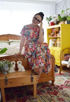 Sukienka Burda Patterns, Short Sleeve Dresses, Dresses With Sleeves, Model, Blog, Diy, Vintage, Style, Fashion