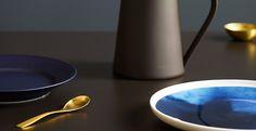 vosgesparis: Inspiration for your home Jotun Lady, Scandinavian Design, Matcha, Colorful Interiors, Color Inspiration, Pure Products, Interior Design, Tableware, Blue