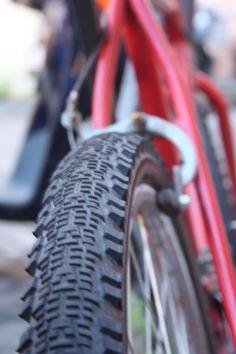 #Wheel #Bike #Bicycle #red #ViaGaribaldi #Trastevere #rome