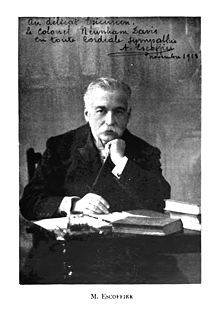 Auguste Escoffier (1846- 1935) - The Emperor of Chefs and the Chef of Emporers
