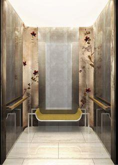 Bronze Magnolia Elevator Panels | Michael Wong | Archinect