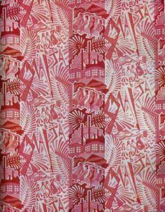 8 марта. Ситец. Конец 1920-х -- 1930 г. - Советские ткани 20-30-х гг. - Галерея - Усадьба Урсы