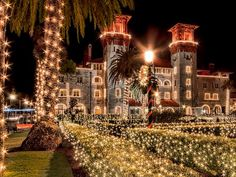 Find trip ideas and the full list of events for the Nights of Lights in St. Augustine, including the famous trolley, boat, and red train tours. Lights Tour, Train Tour, Christmas Train, White Christmas, Free Park, Holiday Lights, Nice View, Night Life, Road Trip