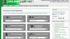 Online Convert.com Online Convert.com es una de las herramientas más útiles que he conocido, lo utilizo con frecuencia para hacer cambios de formato en documentos de todo tipo, texto, audio o vídie…