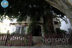 "Kurt Cobain and Courtney Love's Love Nest – The controverse couple moved into this West Hollywood apartment building in the Fairfax district in 1992. For months Kurt worked on his art instead of writing music.  They later moved out when they came home from a tour and found the bathtub broken and the apartment flooded. Kurt reportedly wrote his song ""Heart Shaped Box"" in this bathroom  