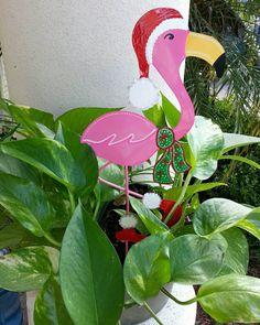 Christmas Flamingo, Holiday Flamingo, Holiday Florida Flamingo