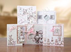 Range of cards from the #Vintage Ephemera Collection from #CraftworkCards…