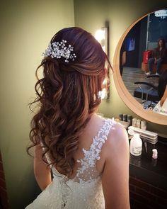 Brauthaar- und Make-up-Modelle 2017 www. # Makeup Office - K.Pi - Brauthaar- und Make-up-Modelle 2017 www.basakkuaforma … # Makeup Office – K.Pi Brauthaar- und Make-up-Modelle 2017 www.basakkuaforma … # Makeup Office – K. Quince Hairstyles, Down Hairstyles, Wedding Hairstyles, Hairstyles Videos, Bridal Hairstyle, Party Hairstyles, Bridal Hair Vine, Bridal Hair And Makeup, Hair Makeup