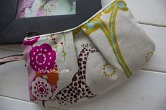 113 Pleated Zipper Pouches(3 Patterns)