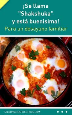 Shakshuka – Eggs in Tomato Sauce Recipe Breakfast Recipes video recipe – The Most Practical and Easy Recipes Spicy Tomato Sauce, Tomato Sauce Recipe, Egg Recipes, Sauce Recipes, Cooking Recipes, Ways To Cook Eggs, Shakshuka Recipes, Fresh Tomato Recipes, Shawarma