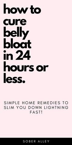 Wondering how to get rid of belly bloat fast? These belly bloat remedies can help you to cure belly bloat in 24 hours or less. It's great! Lose Weight In A Month, Diet Plans To Lose Weight, Losing Weight Tips, Want To Lose Weight, Weight Loss Tips, How To Lose Weight Fast, Slim Down Fast, Weights For Beginners, Bloating Remedies