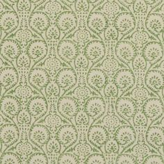 Pollen Trail Fabric in Green | Baker Lifestyle
