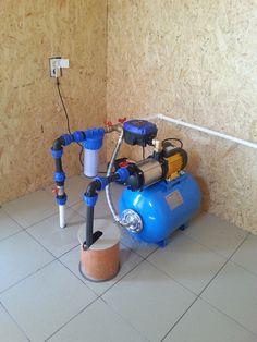 sistem de alimentare cu apa CPTOP50ASPTI25 4M realizat in Darza