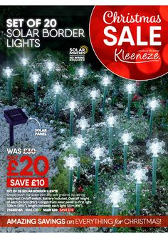 Autumn/Winter Christmas Sale 2017 Christmas Sale, Winter Christmas, Christmas Settings, East Coast, Solar Panels, Autumn, Lights, Holiday Decor, Sun Panels