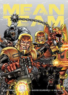 Mean Team - from the pages of 2000AD