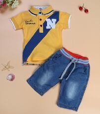 d281f92efb610 Children sport boy clothing boy clothes t-shirts+short fashion clothes sets  cowboy suit. Boys Summer ...