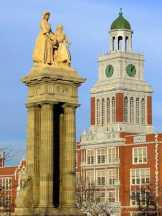 East High School. Denver, Colorado. I have been here and while their campus is pretty I would not be able to go there. The differences are too great.