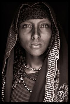 Oromo girl, Eastern Ethiopia. I'd like to meet her.  Ethiopia - East/West & Omo / January 2010.