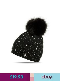 LUXE B Baby Pom Pom Slouchy Beanie Hat Rain Pattern with Charcoal ... ee5fd80558d