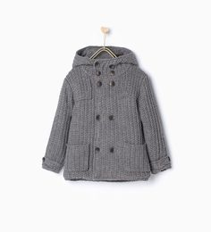 ZARA - NEW IN - Double breasted three quarter length coat