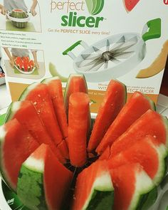 Yes it works!😍love it!😘#kitchentools#itworks#watermelon#perfectslicer#  Yummery - best recipes. Follow Us! #kitchentools #kitchen
