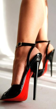 Christian Louboutin 'Hot Chick' Black Pumps Spring 2015 Collection only $115.25 #CL #Louboutins #Shoes