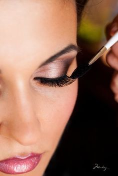 wedding makeup by myrna. Idea, maybe with a more nude lip