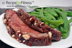 Recipe for Fitness  - Recipe of the Week - Raspberry Chipotle Steak