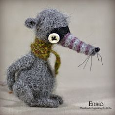 Ensio  Original Handmade Little by Knofletka on Etsy