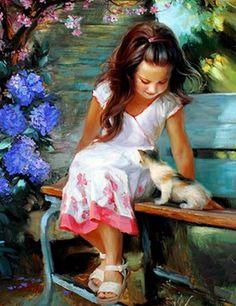 Painting by artist Vladimir Volegov.