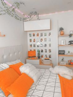 Cute Bedroom Decor, Cute Bedroom Ideas, Room Ideas Bedroom, Stylish Bedroom, Teen Room Decor, Small Room Bedroom, Bedroom Inspo, Aesthetic Room Decor, Aesthetic Bedrooms