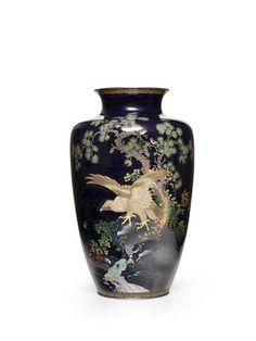 Meiji Era, Auction, Enamel, Japanese, Fine Art, Artist, Pictures, Beautiful, Vases