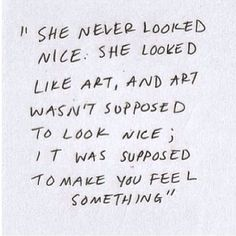 Eleanor and Park. I haven't read this book yet, but this quote really makes me want to.