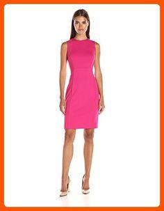 Calvin Klein Women's Sheath W/ Zip AT Shoulder, Winter Rose, 8 - All about women (*Amazon Partner-Link)