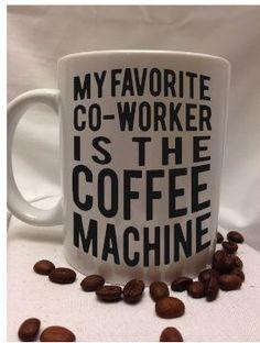 favorite co-worker coffee mug by LooneyCraft on Etsy