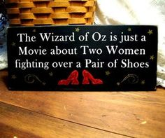 Cute! =) The Wizard of Oz