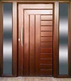 House Main Door Design, Single Door Design, Wooden Front Door Design, Bedroom Door Design, Wooden Front Doors, Door Design Interior, Interior Doors, Modern Entrance Door, Modern Wooden Doors