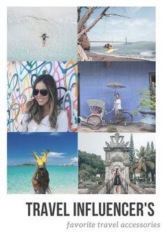 Travel Influencer's favorite travel accessories
