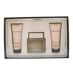 Dahlia Noir Givenchy 2.5 oz EDT Womens Perfume + 2.5 body milk + 2.5 gel SET NIB, White