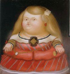 """Princesa Margarita"" by Fernando Botero"