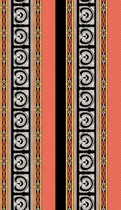 Border Design, My Design, Design Seeds, Textile Design, Digital, Shawl, Ali, Flowers, Paisley