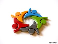 """Download the royalty-free photo """" People Group Teamwork Logo. Vector graphic design illustration"""" created by Fotolia365 at the lowest price on Fotolia.com. Browse our cheap image bank online to find the perfect stock photo for your marketing projects!"""